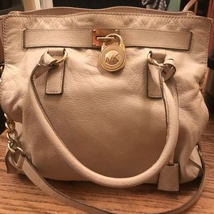 Michael Kors Cream Tote